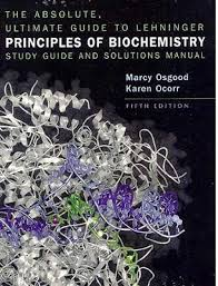 lehninger principles of biochemistry study guide and solutions