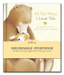 recordable books all the ways i you by theresa trinder