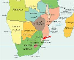 Swaziland Map About Sing A Song In Swaziland
