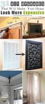 Easy Way To Hang Curtains Decorating Diy Cheap And Easy Ways To Make Your Home Look More Expensive