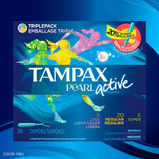 Most Comfortable Tampons For Swimming Buy Tampax Pearl Active Applicator Plastic Tampons Cvs