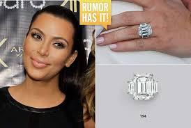 Kim Kardashian Wedding Ring by Is Kim Kardashian U0026apos S Engagement Ring Going Up For Auction At