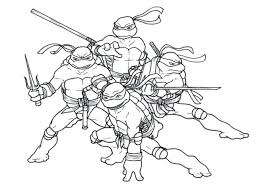 free printable teenage mutant ninja turtles coloring sheets pages