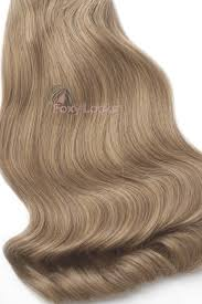 Clip In Blonde Hair Extensions by Caramel Superior Seamless 22