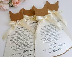 invitation for bridesmaid bridesmaid invite etsy