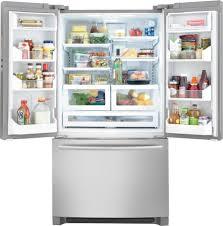 frigidaire glass door fridge frigidaire professional fphg2399pf 22 5 cu ft counter depth