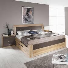 Schlafzimmer Gr Rauch Arona Komfortbett Eiche Sonoma Lavagrau