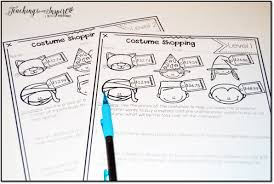 halloween activities and ideas for upper elementary teaching to