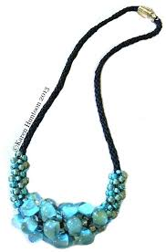 tutorial beading necklace images Kumihimo tutorials for instant download teardrop focal bead necklace jpg