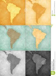 Blank South America Map South America Vintage Map Backgrounds Stock Image Image 32744451