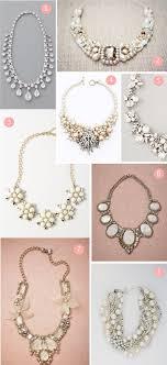 bridesmaid statement necklaces best 25 bridesmaid statement necklace ideas on cheap