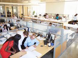 open office floor plan layout