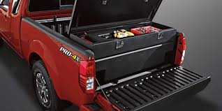 nissan frontier utili track tool box design