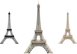 eiffel tower isolated free vector art 12060 free downloads