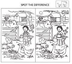 Visual Discrimination Worksheets Spot The Difference Worksheets For Kids Activity Shelter Kids