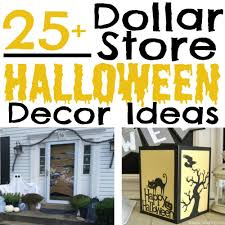 25 halloween decor ideas from the dollar store simple made pretty