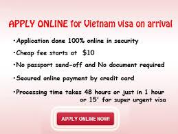 visa on arrival vietnam visa tourist visa visa services go