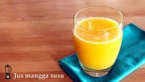 contoh teks prosedur membuat jus mangga cara membuat jus mangga susu super segar resep jus sehat