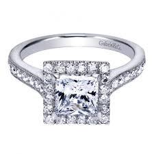 princess cut halo engagement ring 1 75cttw princess cut halo engagement ring with bead set