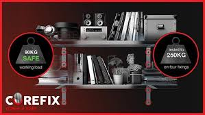 Install Heavy Duty Shelf Brackets In Concrete The Homy Design - heavy duty shelf fixings fix heavy weight shelving u2013 corefixed