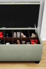 Gold Storage Ottoman by 96 Best Shoe Storage Ottoman Bench Images On Pinterest