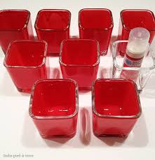 diy colored mercury glass candle holders nomadic decorator