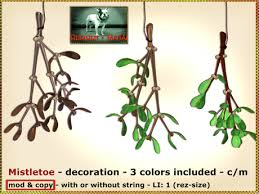 Mistletoe Decoration Second Life Marketplace Bliensen Maitai Mistletoe