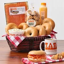 zabar s gift baskets zabar s morning basics gift basket