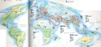 Diagram Of The World Map by Hist 130 Modern World History