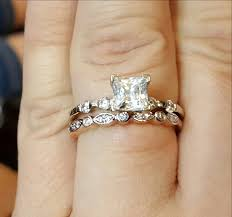 wedding ring order new wedding ring and engagement ring order on finger