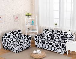 Black Sofa Slipcover Black And White Sofa Slipcovers Aecagra Org