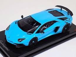 blue and black lamborghini 1 18 mr collection lamborghini aventador sv baby blue with black