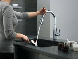 Delta Touch Kitchen Faucet Troubleshooting Delta No Touch Faucet Fantastic Delta Touch Faucet Image For