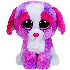 amazon ty beanie boos sherbet multicolor dog toys u0026 games
