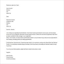 10 personal letter of recommendation u2013 free sample example