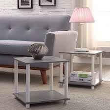 bed and side table set end table set 2 small storage side tables coffee living room bedroom
