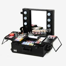 professional makeup artist bags brand new black professional makeup travel suitcase