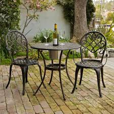 Iron Bistro Chairs Furniture Add Your Garden And Home With The Cast Iron Bistro Set