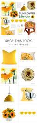 Sunflowers Decorations Home by Top 25 Best Sunflower Kitchen Ideas On Pinterest Sunflower
