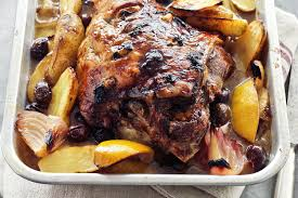 greek style slow roasted lamb