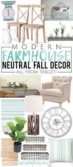 farmhouse decor target modern farmhouse neutral fall decor all from target