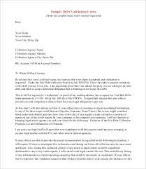 debt validation letter template zanews info