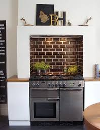 kitchen mantel ideas look a kitchen stove designed into a chimney mdash with the