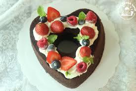 nasi lemak lover rich chocolate chiffon cake 巧克力心型威风蛋糕