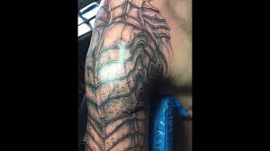 predator scar armor tour dude u0027s tattoos u2022 bronx youtube