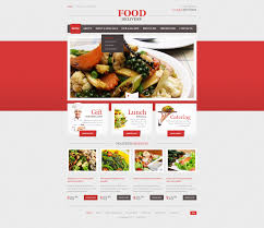 website template 44196 food delivery catering custom website