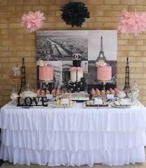 Paris Themed Party Supplies Decorations - paris theme sweets u0026 treats table quinceanera paris