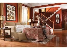 La Z Boy Bedroom Furniture by La Z Boy Laurel Supreme Comfort Queen Sleep Sofa Morris Home