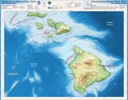 Hawaii On World Map Hawaiian Islands Humpback Whale Library Maps Charts And Gis Data