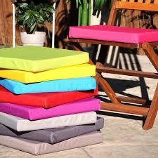 galette de chaise de jardin galette assise 40x40 cm outdoor sun spécial ext achat vente